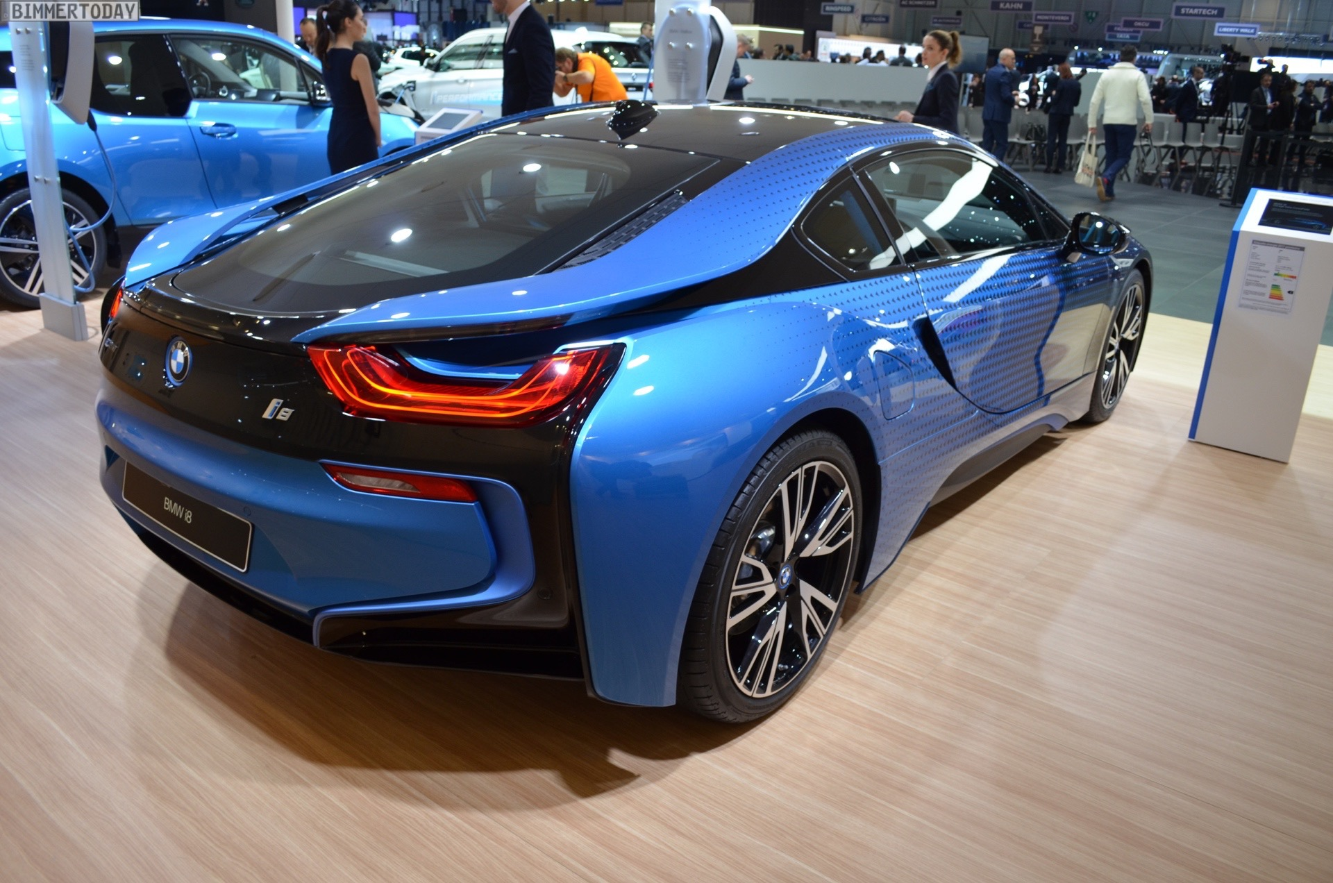 You don't need to pay road tax with the BMW i8 and you can enjoy up to 134mpg