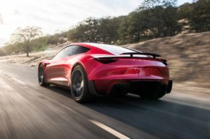 Performance, without compromise delivered by the Tesla Roadster - endorsed by Jay Leno